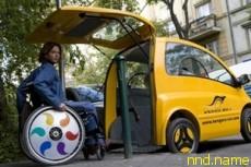 Kenguru электромобиль для людей с ограниченными возможностями