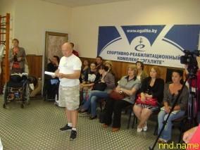 В Полоцке прошел международный турнир по паралимпийскому фехтованию на призы «Эгалите»