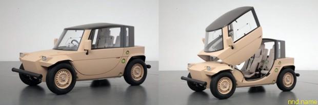 Toyota представила интересный концепт Camatte