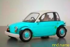 Toyota разработала игрушечный автомобиль