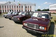 Воинам-интернационалистам 4 автомобиля «Лада»