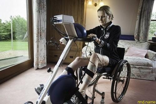 Клэр Ломас приняла участие в Лондонском марафоне