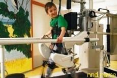 Краснодарских детей-инвалидов научит ходить робот из Швейцарии