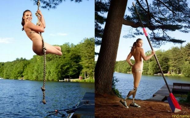 Оксана Мастерс обнажилась для журнала ESPN, в котором воспевают красоту человеческого тела