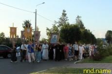 Крестный ход из Белой Руси в Великую