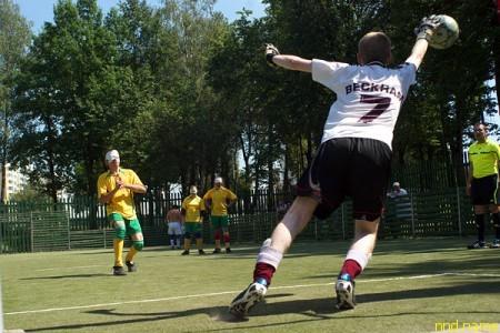 Витебчане чемпионы Беларуси среди незрячих футболистов