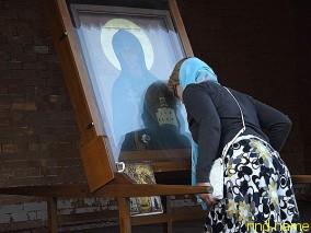 Икона святой преподобной Евфросинии Полоцкой.