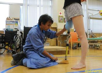 Фумио Юшуи - протезист-ветеран Токийского Центра Протезирования и Ортопедии