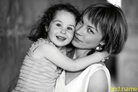 Инга Медведева с дочерью Леной