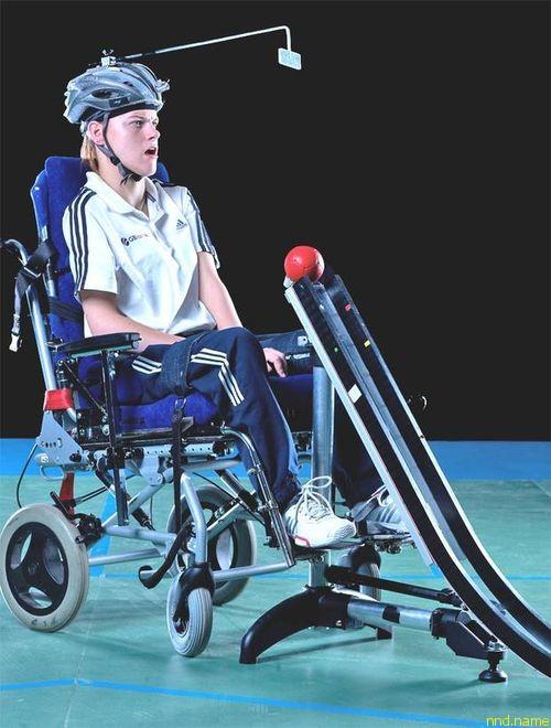 Легкие и точно выверенные пандусы для игры в шары - одного из паралимпийских видов спорта
