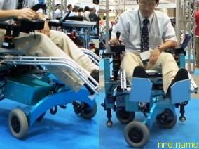 Электроколяска от Chiba Tech которая может... ходить