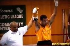 Американский боксер с инвалидностью Майкл Константино