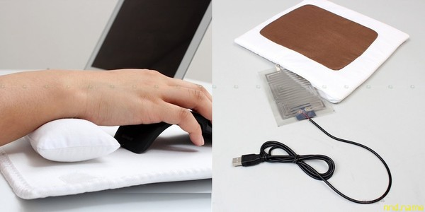 Futon Mouse Pad, USB-коврик для мыши с функцией подогрева