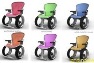 Концептуальная кресло-коляска с дизайном Audi R8