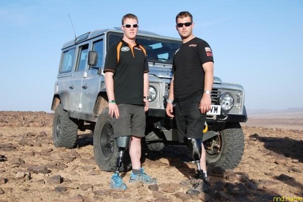 Инвалиды морской пехоты США участвуют в ралли Дакар 2013