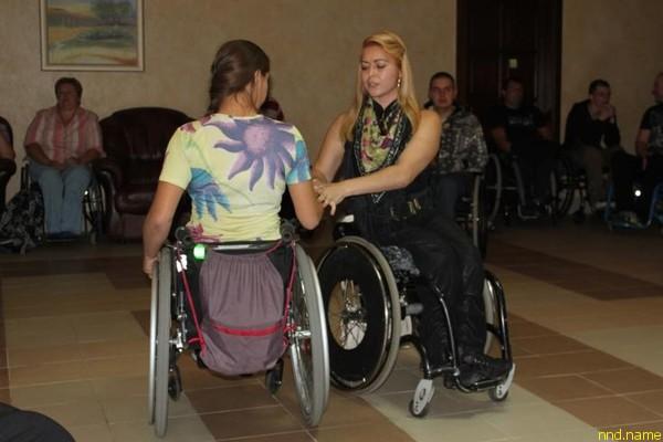 Мастер-класс по танцам на колясках от Анны Горчаковой