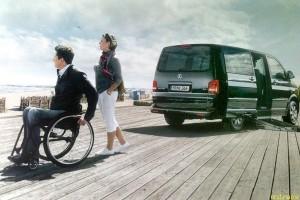 Коммерческие автомобили помогут людям с инвалидностью