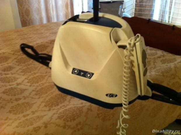 Лифт электрический-потолочный (в спальню) для пересадки меня — с кровати в кресло и обратно