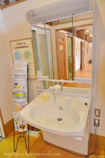 20. Стандартная ванная в японской квартире
