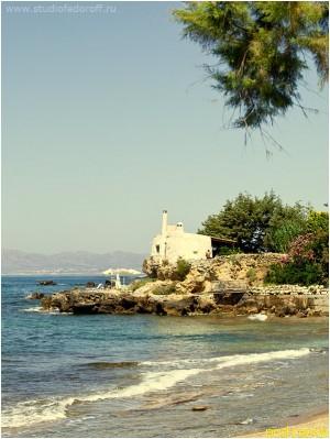 Остров Крит. По дороге в Ханью.