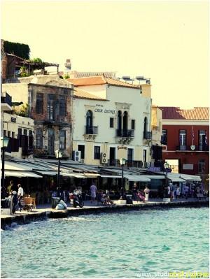 Остров Крит. Ханья, гавань.