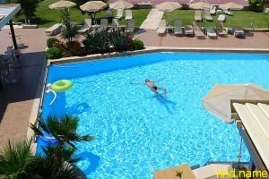 Ханья, гостиница,вид на бассейн