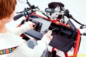 Spanker электромотобайк для инвалидов колясочников