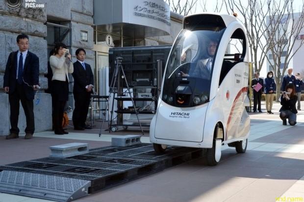 Hitachi ROPITS - самостоятельный автомобиль