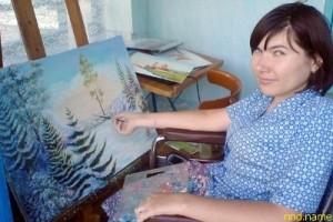 Художница Валентина Васильева из Карачева мечтает об коляске