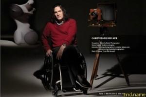 Christopher Voelker - Знаменитый фотограф колясосник