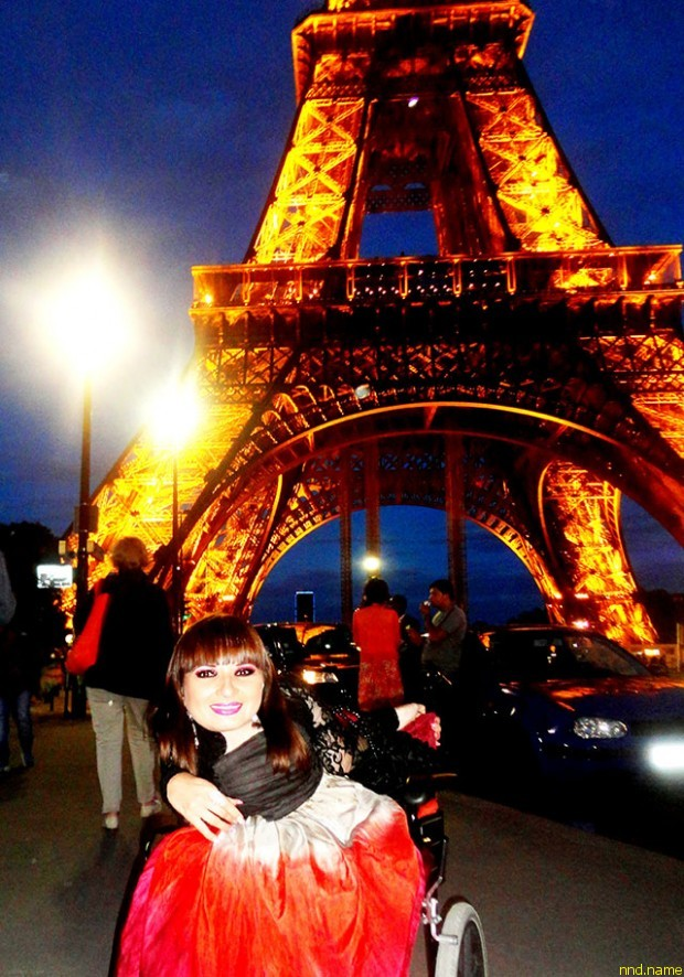 Виктория Федорчук побывала в Париже!