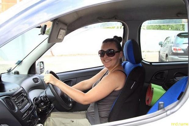 Марина Васильева с детства мечтала водить машину