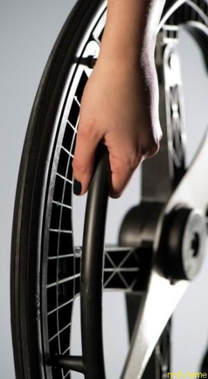Складывающееся колесо от Британских дизайнеров