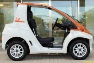 Одноместный электромобиль COMS P-COM