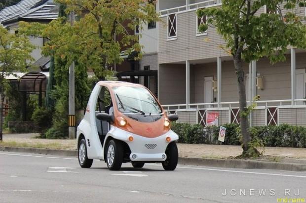 Электромобиль COMS P-COM от компании Toyota Body