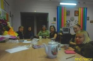 Встреча группы колясочниц в социальном центре