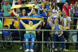 ФК «Металлист» основал клуб болельщиков с ограниченными физическими возможностями