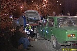 Пьяный инвалид протаранил Porsche