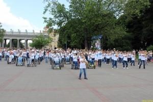 Танцевальный флешмоб с участием детей состоялся в Минске