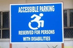 В Нью-Йорке значок человека с инвалидностью будет в движении