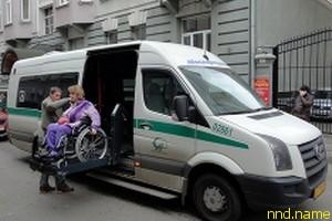Акция протеста людей с ограниченными возможностями в Петербурге