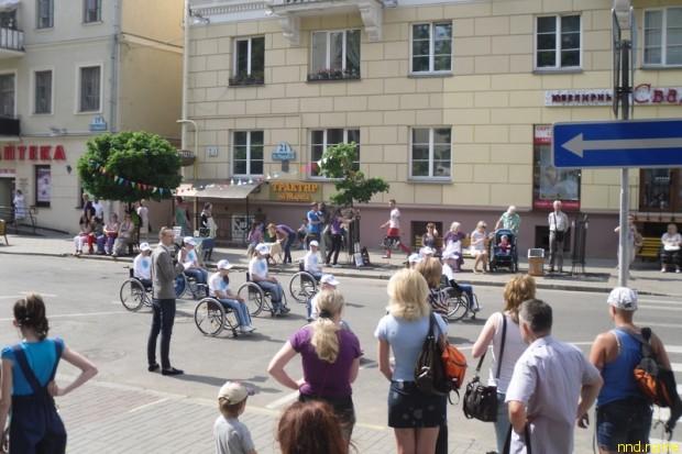 1 июля в 15.30 в Международный день детей на Пешеходной улице Карла Маркса в г. Минске