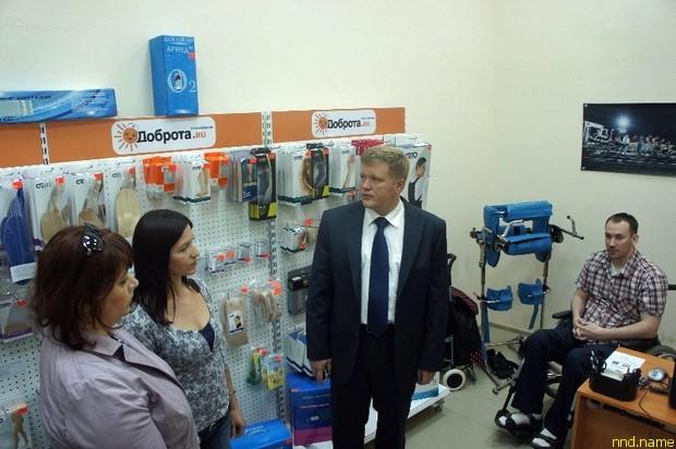 Колясочник Дмитрий Беляев открыл свой бизнес