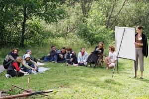 Летний интеграционный лагерь «Круглое Озеро-2013»
