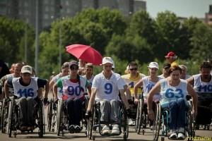 Спортивный праздник колясочников прошел в Минске