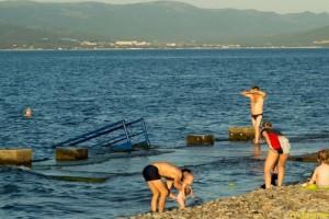 В Новороссийске переоборудован пляж
