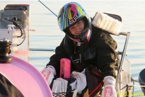16-летняя яхтсменка Наташа Ламберт пересекает Ла-Манш