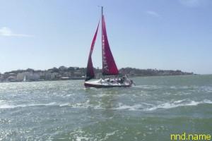 16-летняя яхтсменка колясочница пересекает Ла-Манш