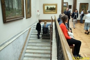 Сотрудники РООИ «Перспектива» оценили Третьяковскую галерею на доступность