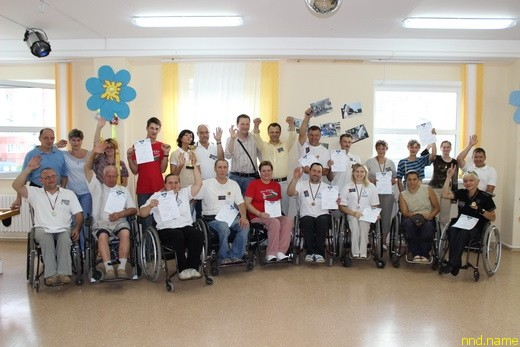 Первый в Беларуси турнир по новусу среди людей с инвалидностью